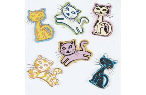 PAPER CLIPS CATS